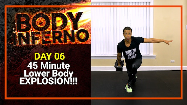 Inferno #06 - 45 Minute Lower Body Explosive Build