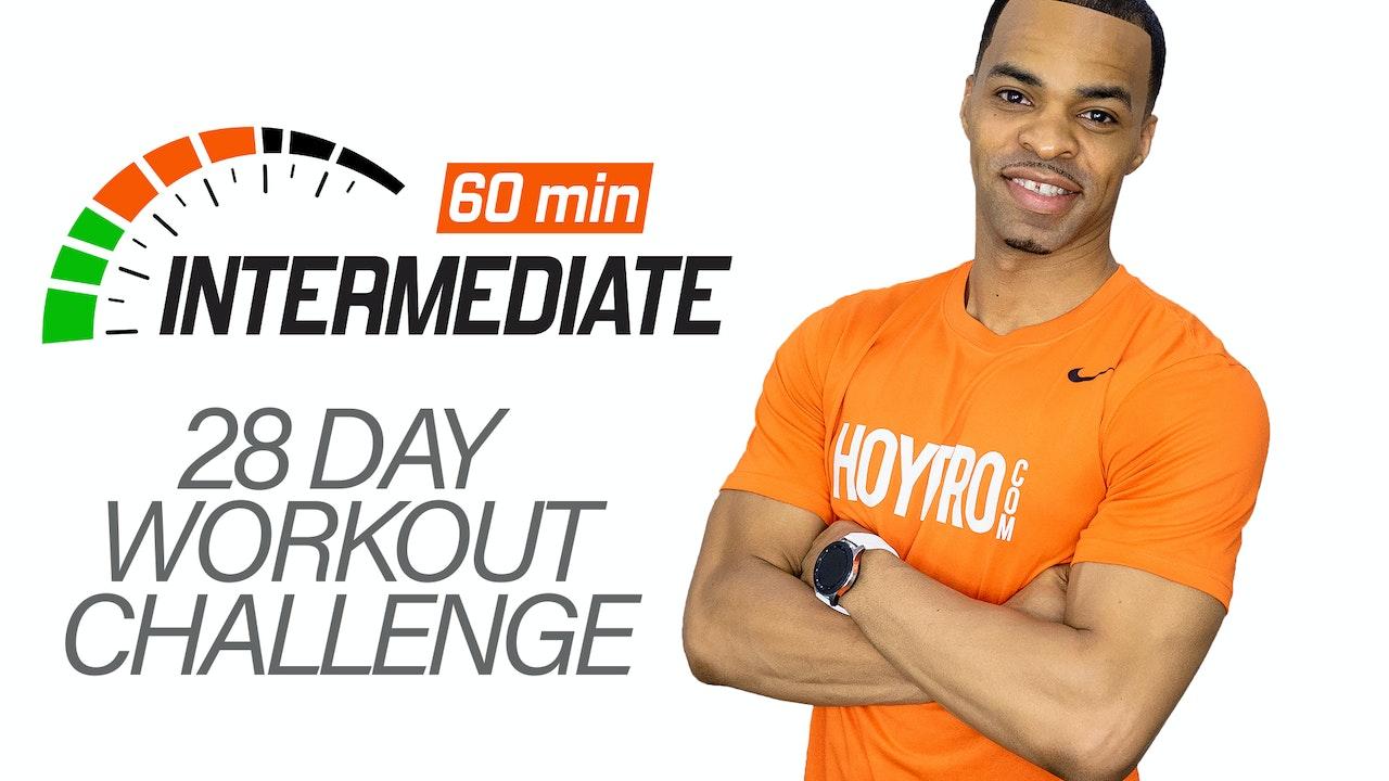 28 Day 60 Minute Intermediate Challenge