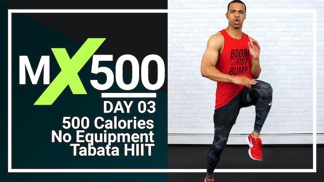 MX500 #03 - 35 Minute Tabata HIIT Burnout