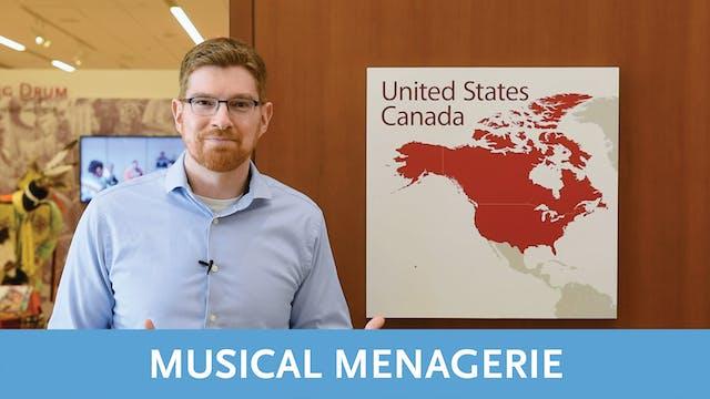 Musical Menagerie Tour   Video 4   Northwest Coast