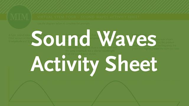 1 – Sound Waves Activity Sheet