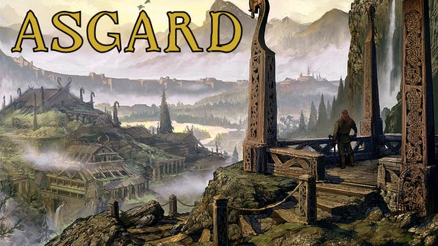 Asgard Mythologie