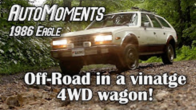1986 AMC Eagle - Off-Road in a Vintage 4WD Wagon - AutoMoments