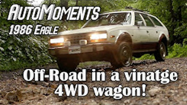 1986 AMC Eagle - Off-Road in a Vintag...