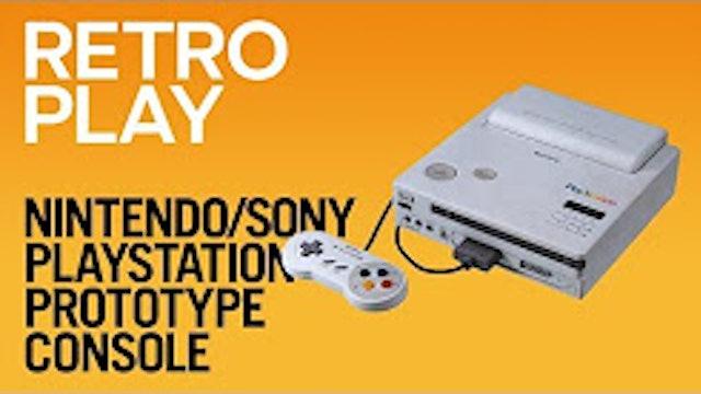 Nintendo-Sony PlayStation Prototype Console
