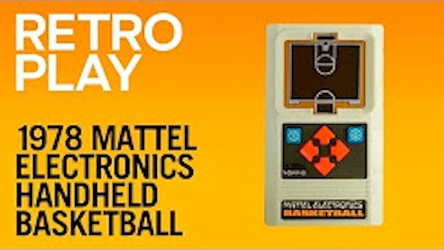 1978 Mattel Electronics Handheld Basketball