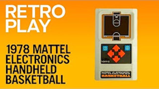 1978 Mattel Electronics Handheld Bask...