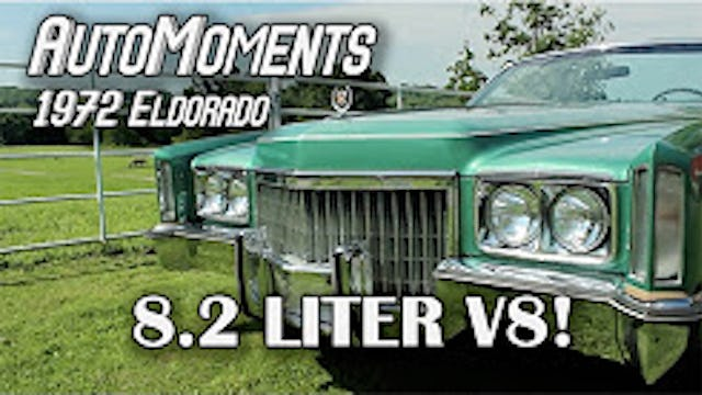 1972 Cadillac Eldorado - 8.2 Liters of V8 Power! - AutoMoments