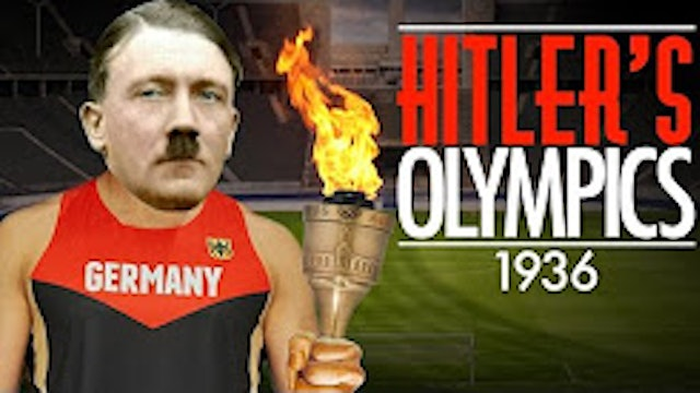 Hitler's Olympics - Berlin 1936 - History of The Olympic Games