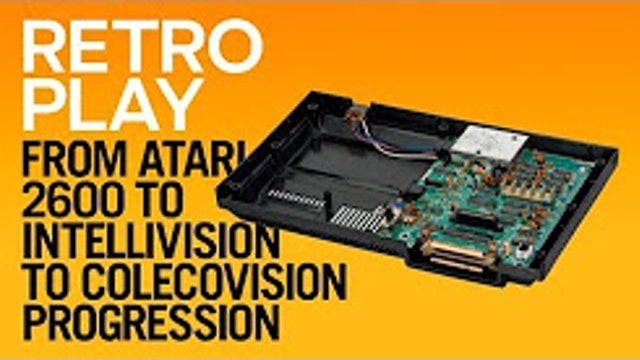 From Atari 2600 to Intellivision to Colecovision Progression