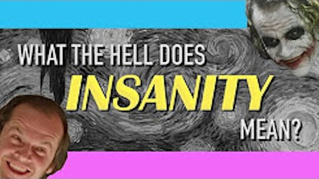 What the hell does INSANITY mean?
