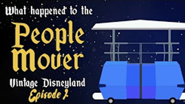 FastPass Facts - Vintage Disneyland - What Happened to the People Mover-