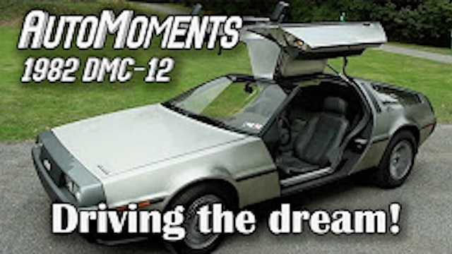 1982 DeLorean DMC-12 - Driving the Ca...