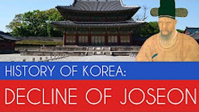 Decline of Joseon Korea