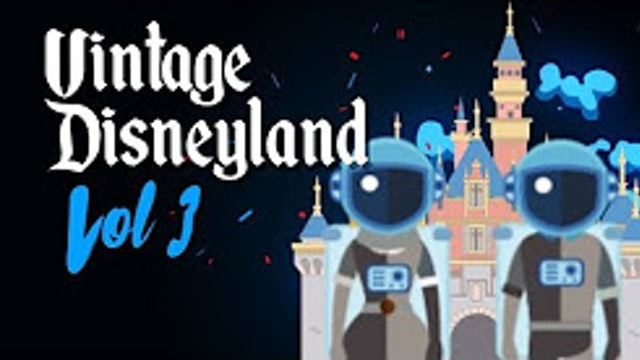 FastPass Facts - Vintage Disneyland - Secrets Tomorrowland Space Man and Space girl