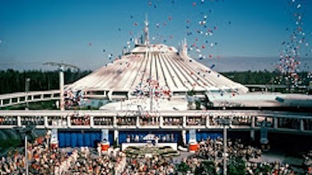 History of the Disney Parks - Space Mountain
