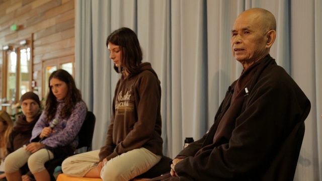 PS Video Extras - Thich Nhat Hanh QA 1