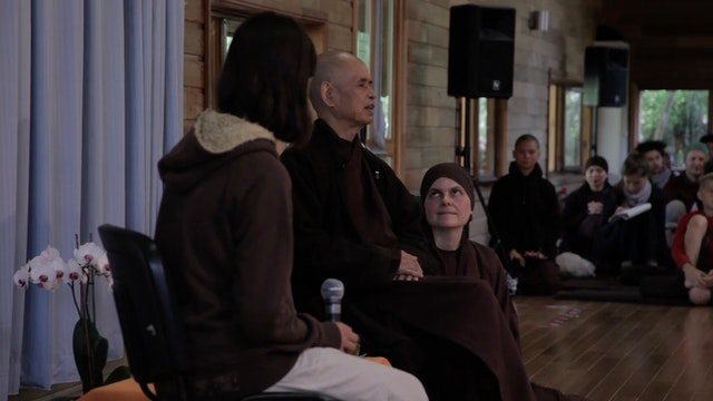 PS Video Extras - Thich Nhat Hanh QA 6
