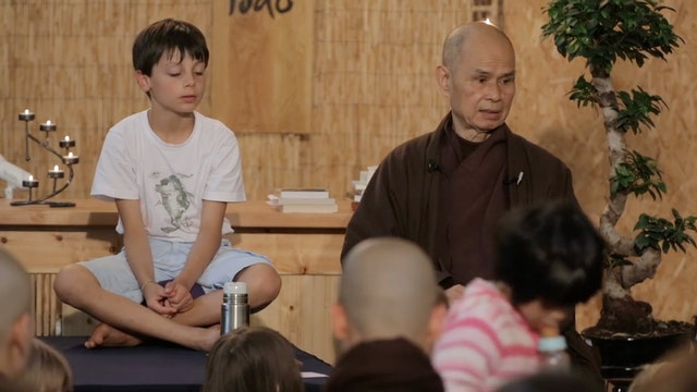PS Video Extras - Thich Nhat Hanh QA nasty brother