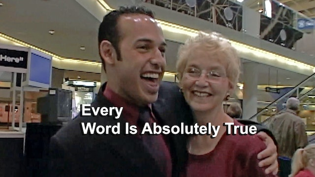 "HBO DOCUMENTARY Shaun Majumder ""Every Word Is Absolutely True"""