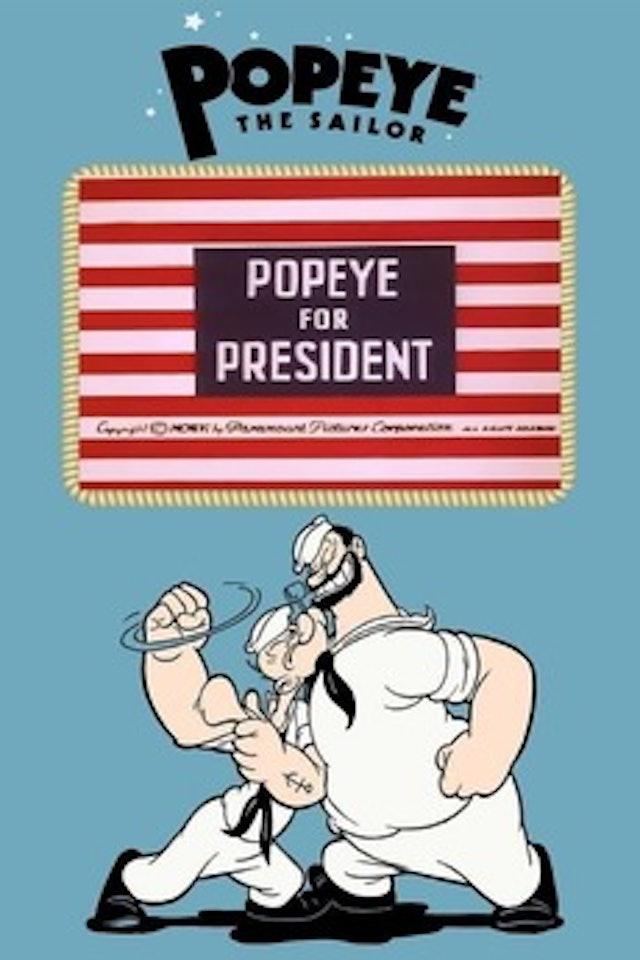 Popeye For President 1956