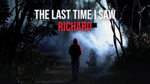 The Last Time I Saw Richard -  Best Short Fiction 2014