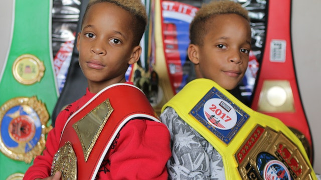 9-Year-Old Twins Are Boxing Champions - Little heroes