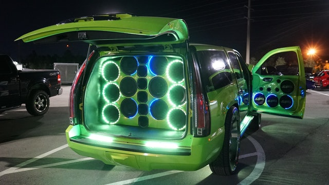 LED Chevy Is Light Show On Wheels