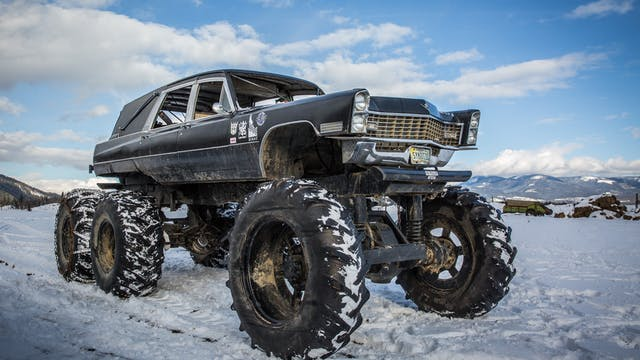 Mortis The 6x6 Monster Hearse -  Wild...