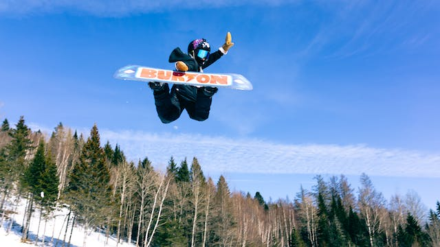 10-Year-Old Snowboarder Lands Dangero...