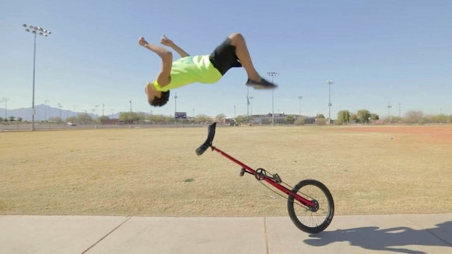 12-Year-Old Prodigy Performs Insane Stunts -  Little story