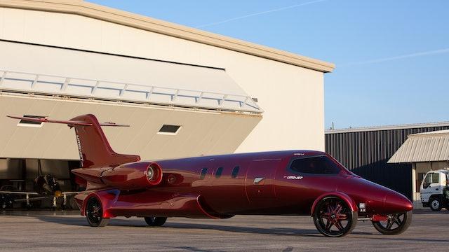 The $5 Million Learjet Limo  - Fully Custom Design