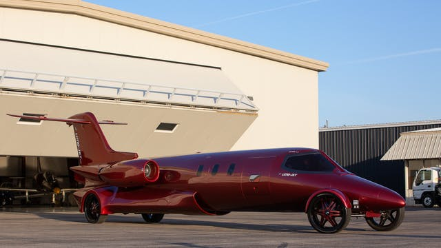 The $5 Million Learjet Limo  - Fully ...