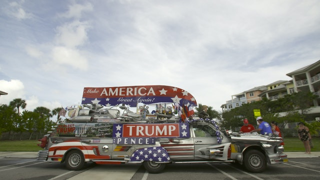 Donald Devotees Build Outrageous Trump Mobile