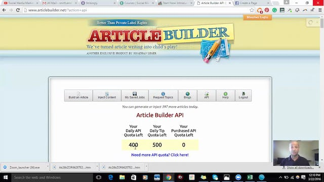 Automate Blogging with Article Builder