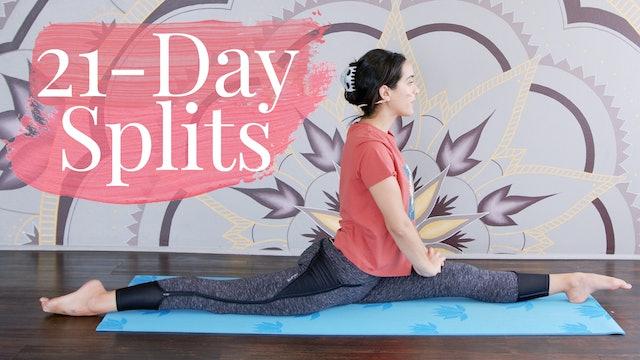 21 Day Splits Challenge