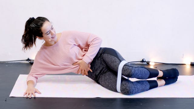Clamshell and Push Up Exercises