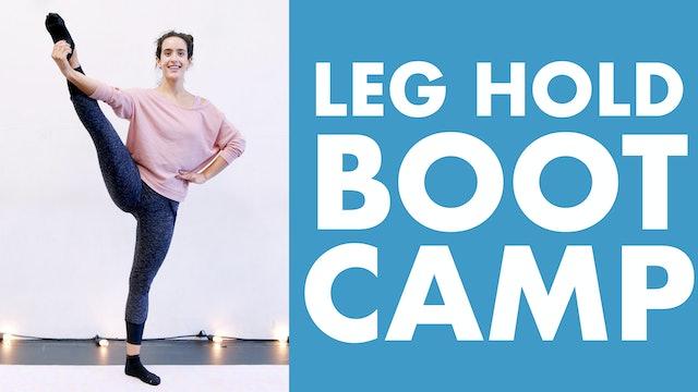 Leg Hold Boot Camp