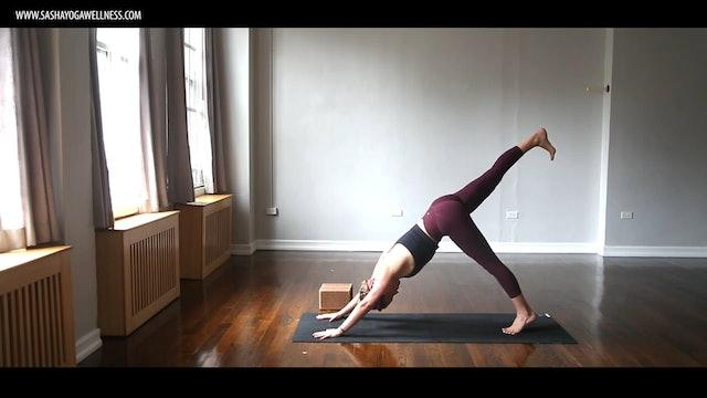 Arm Balances + Inversions with Sasha Yoga + Wellness