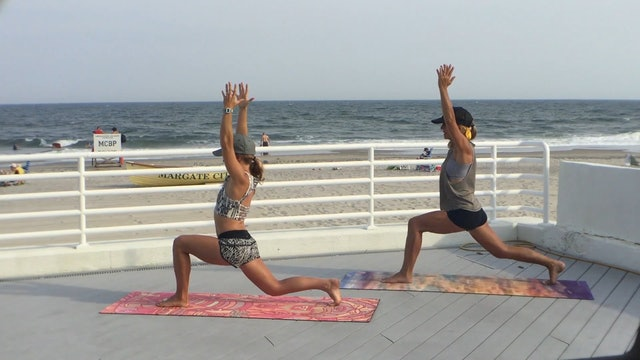 Beach Body Blast Yoga and Toning with Lindsay McCarthy