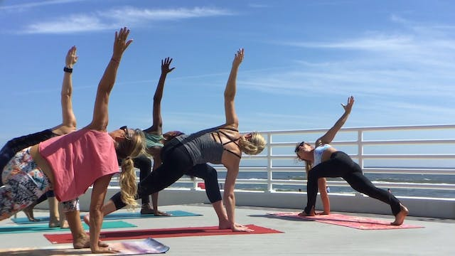 Late Summer Yoga Flow with Lindsay Mc...