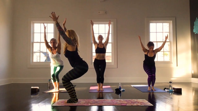 Quick Trip to Paradise Yoga Flow with Vanessa Van Noy
