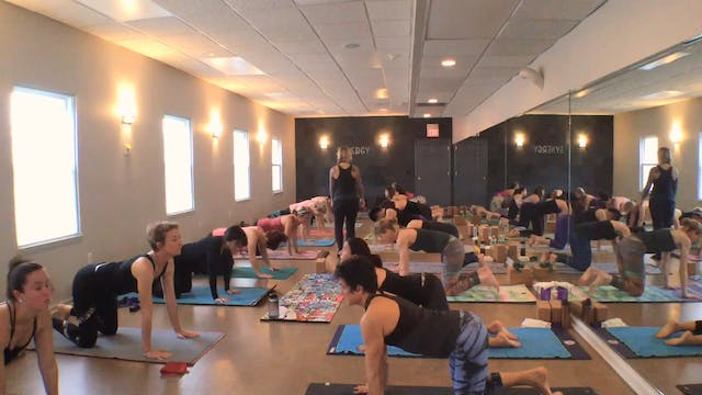The Work-Release Yoga Flow with Vanes...