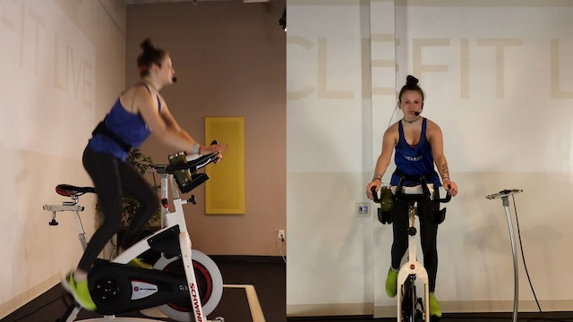 28 Min Cardio Crush CycleFit Class with TheFit