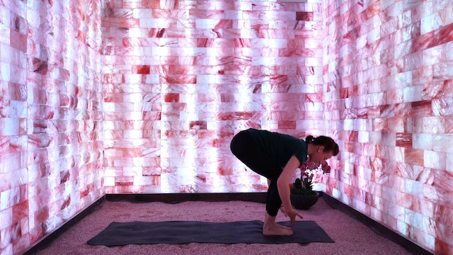 White Chroma Yoga Flow for the Crown Chakra with Modrn Sanctuary