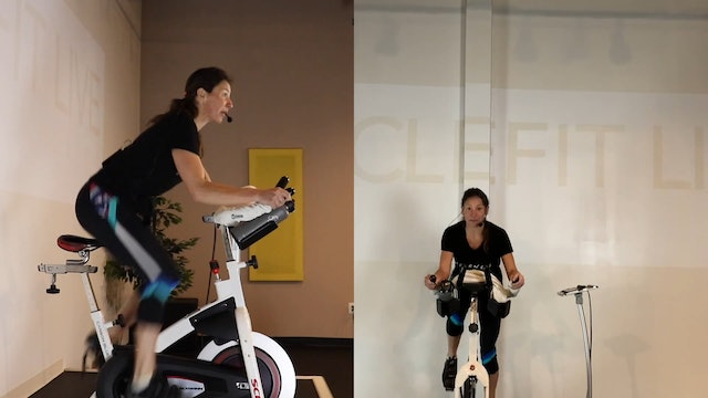 30 Minute CycleFit Succeed Ride with TheFit