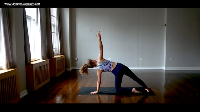 Standing Yoga Postures with Sasha Yoga + Wellness