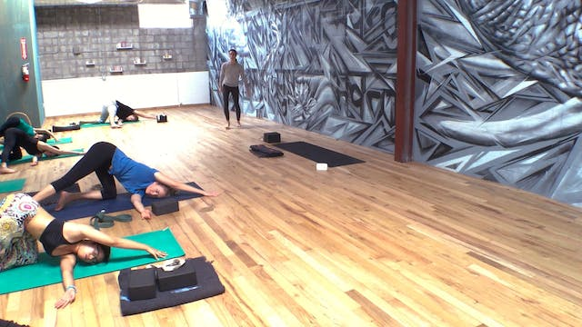 All Levels Vinyasa Yoga Flow with The...