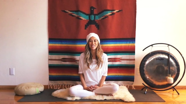 Kundalini Sat Kriya with Altared Space