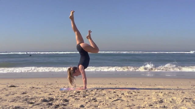 Handstand Basics with Lindsay McCarthy